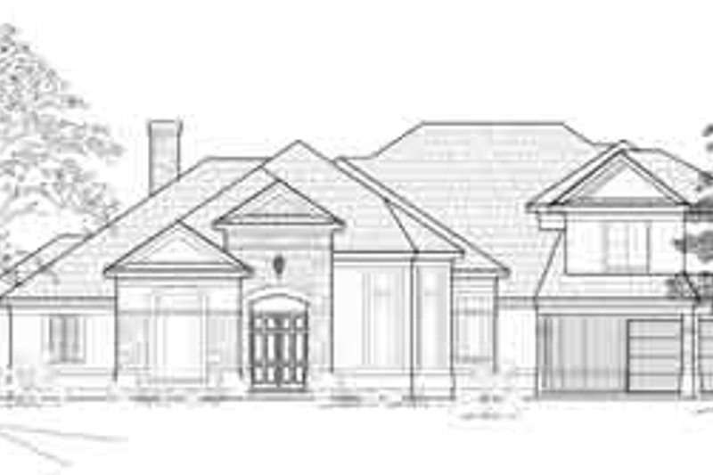 Traditional Exterior - Front Elevation Plan #61-343 - Houseplans.com