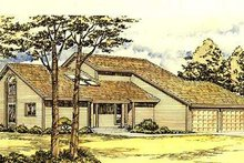 Traditional Exterior - Front Elevation Plan #320-150