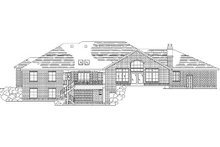 Dream House Plan - Traditional Exterior - Rear Elevation Plan #5-310