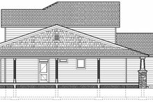Craftsman Exterior - Rear Elevation Plan #126-210