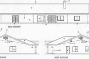 Adobe / Southwestern Style House Plan - 4 Beds 2.5 Baths 2583 Sq/Ft Plan #1-620 Exterior - Rear Elevation
