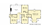 Farmhouse Style House Plan - 4 Beds 3.5 Baths 2546 Sq/Ft Plan #929-1039 Floor Plan - Upper Floor Plan