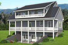 Traditional Exterior - Rear Elevation Plan #932-333