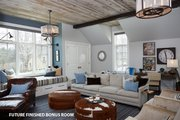 Tudor Style House Plan - 5 Beds 5 Baths 7398 Sq/Ft Plan #928-275 Interior - Other
