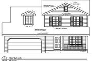 Farmhouse Style House Plan - 4 Beds 2.5 Baths 1500 Sq/Ft Plan #116-189 Exterior - Other Elevation