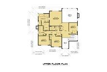 Contemporary Floor Plan - Upper Floor Plan Plan #1066-121