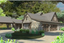Craftsman Exterior - Other Elevation Plan #120-186