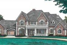 House Plan Design - European Exterior - Front Elevation Plan #310-670