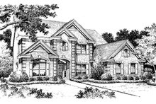 Home Plan Design - Colonial Exterior - Other Elevation Plan #57-274