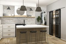 Farmhouse Interior - Kitchen Plan #23-2729