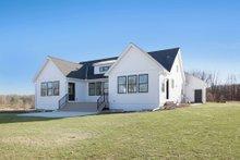 Dream House Plan - Farmhouse Exterior - Rear Elevation Plan #928-303