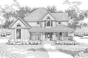 Traditional Exterior - Front Elevation Plan #120-141