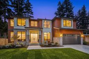 Contemporary Style House Plan - 5 Beds 4.5 Baths 4313 Sq/Ft Plan #1066-125