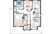 Farmhouse Style House Plan - 4 Beds 2.5 Baths 1935 Sq/Ft Plan #23-864 Floor Plan - Upper Floor Plan