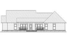 Dream House Plan - Craftsman Exterior - Rear Elevation Plan #21-357