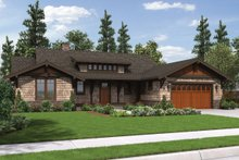 Dream House Plan - Craftsman ranch house Plan 48-600 front