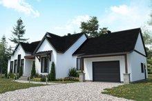 Architectural House Design - Craftsman Exterior - Front Elevation Plan #23-2745