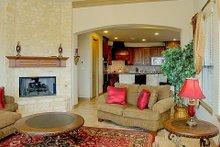 Dream House Plan - European Interior - Family Room Plan #80-160
