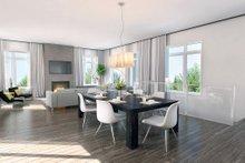 Contemporary Interior - Dining Room Plan #23-2314