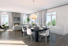 House Plan Design - Contemporary Interior - Dining Room Plan #23-2314