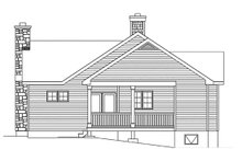 House Design - Cottage Exterior - Other Elevation Plan #22-592