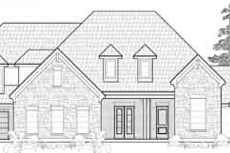 Traditional Exterior - Front Elevation Plan #61-334