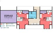 Country Style House Plan - 3 Beds 2 Baths 1686 Sq/Ft Plan #63-379 Floor Plan - Upper Floor Plan