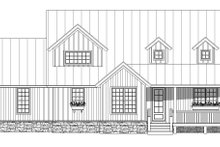 Dream House Plan - Farmhouse Exterior - Front Elevation Plan #932-137
