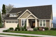Craftsman Style House Plan - 3 Beds 2.5 Baths 2795 Sq/Ft Plan #48-461 Exterior - Front Elevation