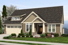 Dream House Plan - Craftsman Exterior - Front Elevation Plan #48-461