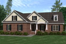 House Plan Design - Traditional Exterior - Front Elevation Plan #1071-15
