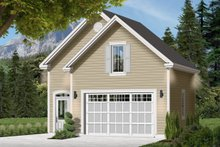 Home Plan - Country Exterior - Front Elevation Plan #23-2276