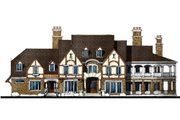 European Style House Plan - 4 Beds 5.5 Baths 5745 Sq/Ft Plan #119-168 Exterior - Other Elevation