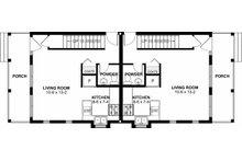 Craftsman Floor Plan - Main Floor Plan Plan #126-200