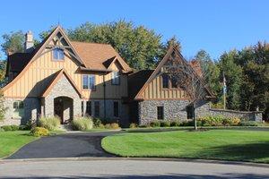 European style home, elevation photo