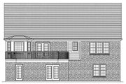 Traditional Style House Plan - 3 Beds 2 Baths 1664 Sq/Ft Plan #46-372 Exterior - Rear Elevation