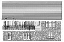Traditional Exterior - Rear Elevation Plan #46-372