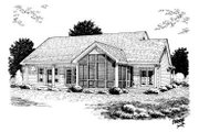 Country Style House Plan - 3 Beds 2 Baths 1838 Sq/Ft Plan #20-160