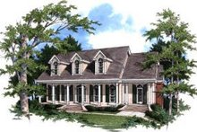 House Design - Southern Exterior - Front Elevation Plan #37-207