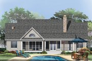 Country Style House Plan - 4 Beds 3 Baths 2124 Sq/Ft Plan #929-46 Exterior - Rear Elevation