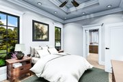 Cottage Style House Plan - 3 Beds 2 Baths 1725 Sq/Ft Plan #406-9660 Interior - Master Bedroom
