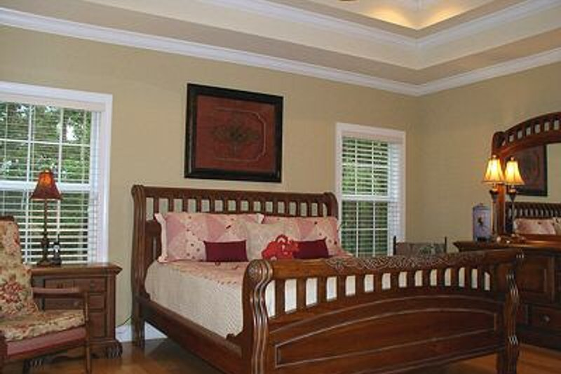 Traditional Interior - Master Bedroom Plan #56-164 - Houseplans.com