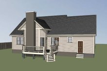 Dream House Plan - Country Exterior - Other Elevation Plan #79-221