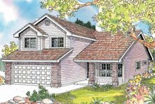 House Plan Design - Exterior - Front Elevation Plan #124-595