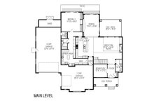 Country Floor Plan - Main Floor Plan Plan #920-14
