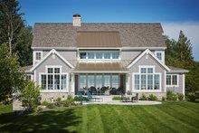 Farmhouse Exterior - Rear Elevation Plan #928-14