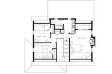Country Floor Plan - Upper Floor Plan Plan #23-2669