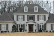 Traditional Style House Plan - 4 Beds 3.5 Baths 4182 Sq/Ft Plan #81-391 Exterior - Front Elevation