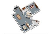 European Style House Plan - 2 Beds 2 Baths 5518 Sq/Ft Plan #25-4695 Floor Plan - Lower Floor Plan