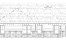 House Design - Craftsman Exterior - Rear Elevation Plan #932-174